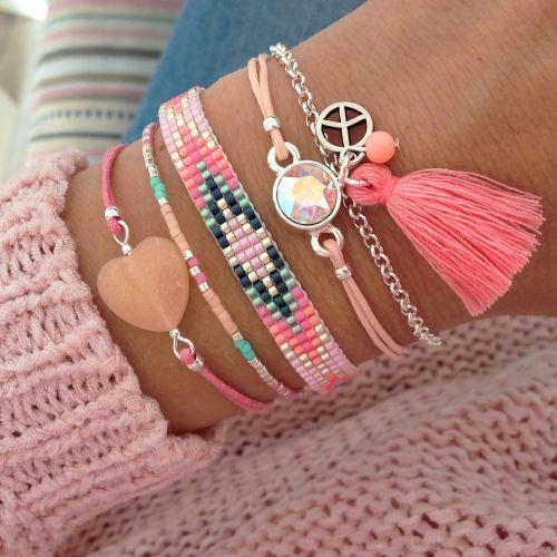Bracelet set 'Ibiza Colors' - Mint15 | www.mint15.nl