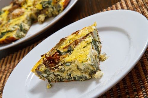 Artichoke and Spinach Frittata 1 500 | Paleo Recipes (no grains, no d ...