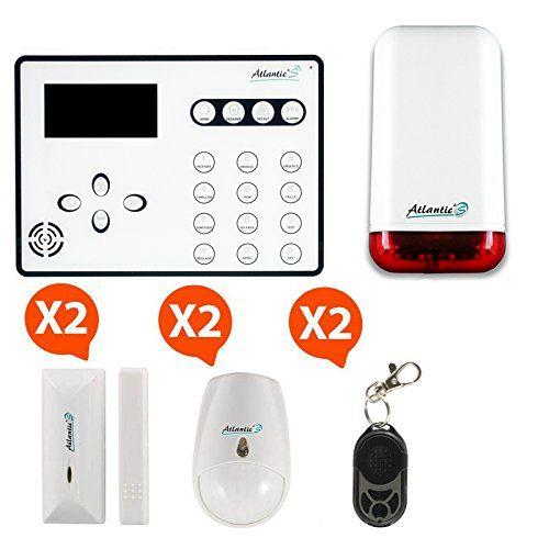Atlantic'S ATEOS KIT 3 MD-329R  Alarme maison sans Fil GSM Ateos Kit 3A #Atlantic'S #ATEOS #Alarme #maison #sans #Ateos