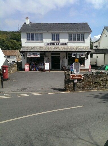 The old post office... The best pasties in North Devon