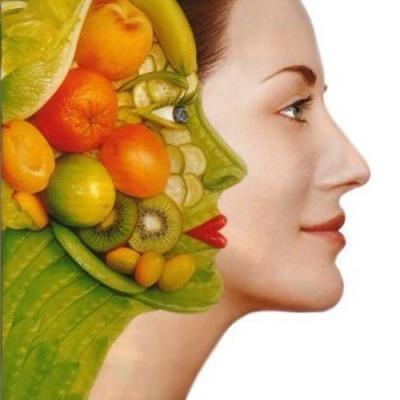 Frutas y verduras son belleza