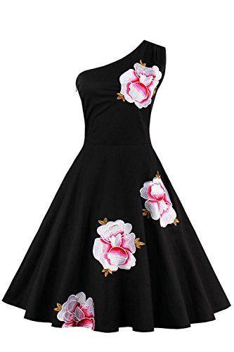 Babyonline- Damen 1960er One shoulder Abendkleid Blumenst... https://www.amazon.de/dp/B01N0SV621/ref=cm_sw_r_pi_dp_x_OY-nzb5ASTSKG