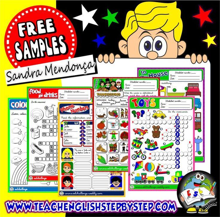 FREE SAMPLES - ESL TEACHING RESOURCES