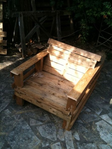 31 best images about pallet furniture on pinterest for Homemade furniture instructions