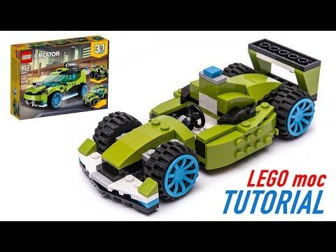 Lego Formula 1 Moc Building Tutorial 31074 Alternative Build