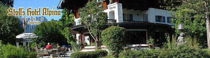 STOLL'S HOTEL ALPINA in Schönau am Königssee bei Berchtesgaden ist ein traditionsreiches und zauberhaft gelegenes ***S Hotel für Ihren Urlaub zu zweit oder mit der Familie im Berchtesgadener Land.
