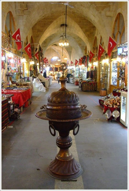 Be Foodie - An old bazaar in Antep, Turkey #gaziantep #turkey