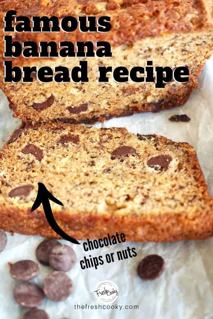 Best Easy Banana Bread Recipe High Altitude Gluten Free Option The Fresh Cooky Recipe In 2020 Easy Banana Bread Recipe Banana Bread Recipes Easy Banana Bread
