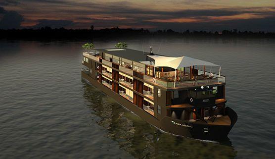 Aqua Mekong Cruiseship; Luxury Cruiseline; Vietnam Cruises