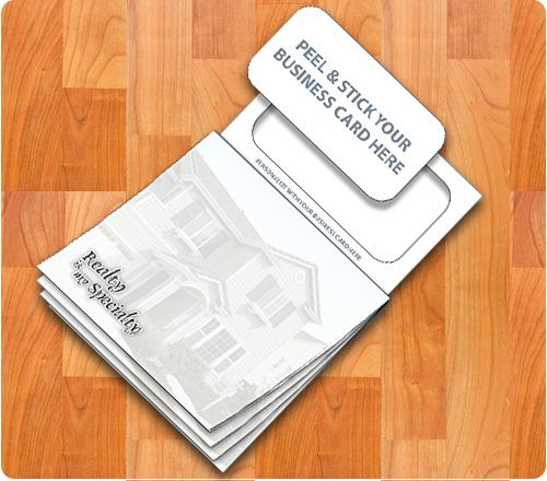 19 best magnetic notepads images on pinterest business cards as low as 54 35 x 55 stock realty magnetic sticky pad 20 magnetic notepadsbusiness cardsvisit colourmoves