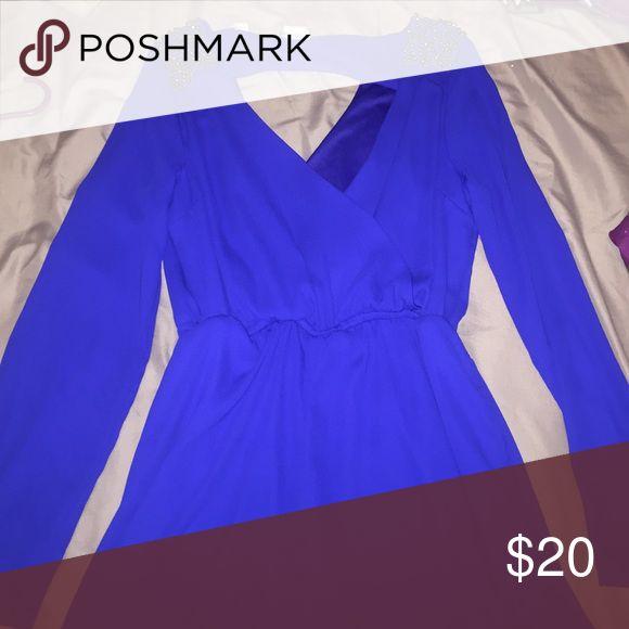 Royal blue jump suit Royal blue jumpsuit NEVER WORN Other