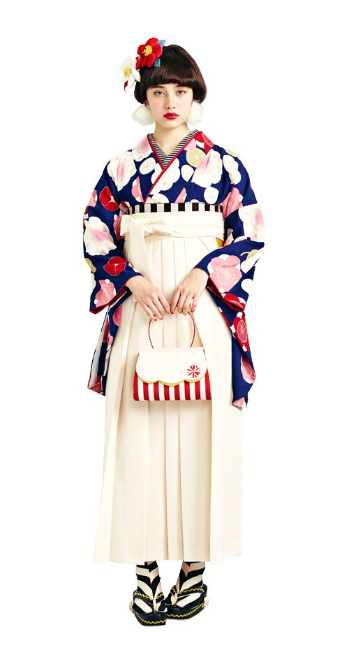 Well, more like a hakama, but I'll post it to my kimono board just the same... it's so cute!