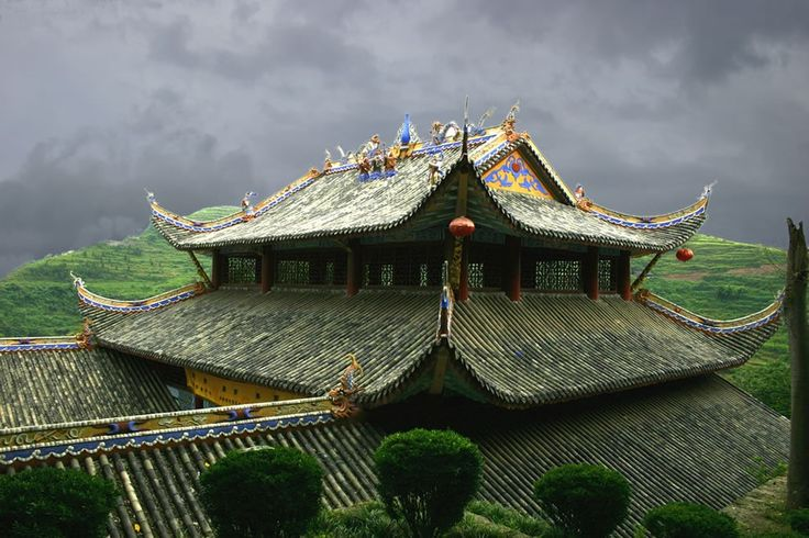 Fengdu Ghost City in China built 1800 years ago to worship the dead.