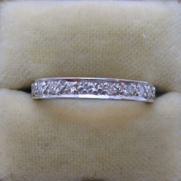 Diamond eternity engagement ring 2964