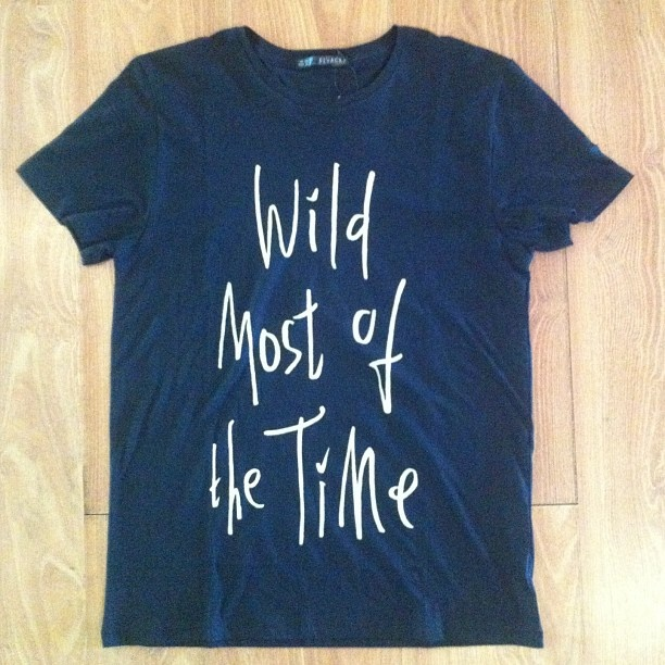 .Wild most of the time tees by @elvacka availabe in our store