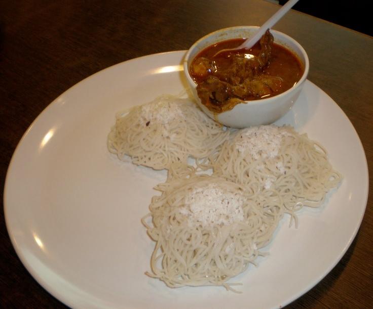 String Hoppers - Idiyappam - Kerala - Cuisine