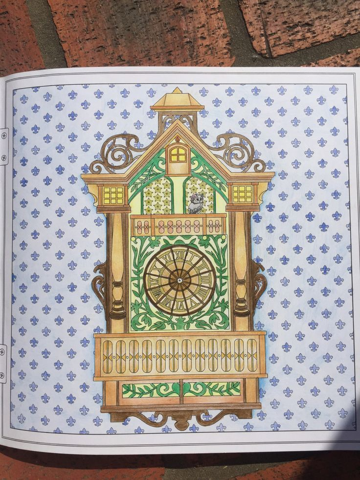 The Time Garden Coloring BooksAdult