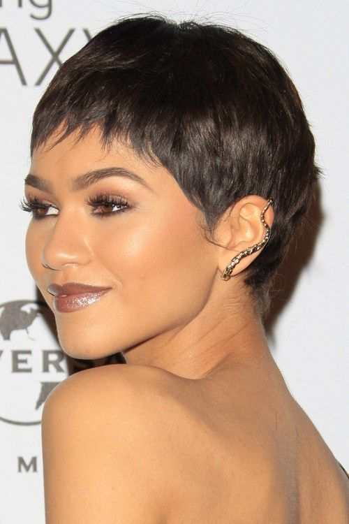 pictures of a line haircuts best 25 black pixie haircut ideas on 3235