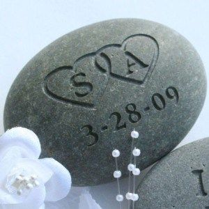 Embrace the old European tradition to add a meaningful highlight to your wedding ceremony. The Oathing Stone is an old Scottish tradition where the Bride and Groom place their hands upon a stone wh...
