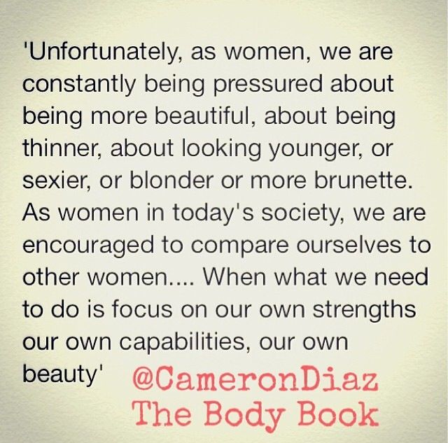 "Quote by Cameron Diaz ""The body book"""