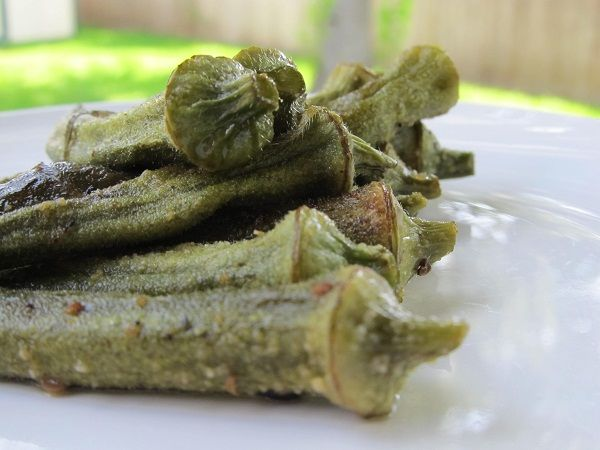 Baked Whole Okra with Olive Oil and Sea Salt Remember to adjust your allowances if using this on your TLC-Program! http://www.tlcforwellbeing.com