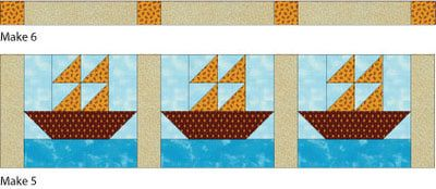Sew a Cute Sailboats Quilt for Baby: Sew the Sailboats Baby Quilt