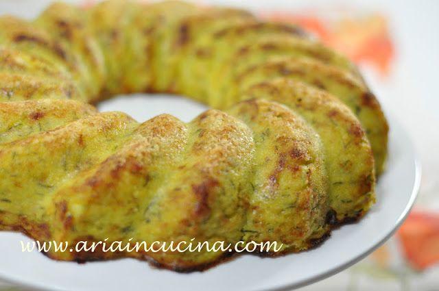 Blog di cucina di Aria: Sformato vegetariano di zucchine, patate e gran Kinara