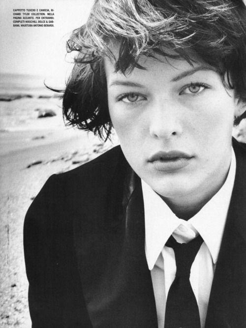 Milla Jovovich photographed by Bob Richardson for Vogue Italia, 1997
