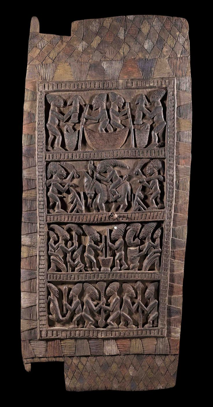 Africa door from the yoruba people of nigeria wood and for Wood doors south africa