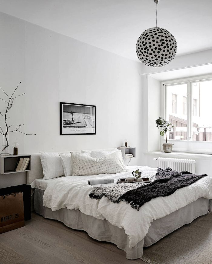 Swedish Interior Design On Nordhemsgatan 31 A   Archiscene   Your Daily  Architecture U0026 Design Update · Monochrome BedroomMinimal BedroomWhite ... Part 74