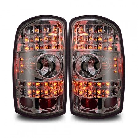 WinJet WJ20-0007-02 | 2006 Chevy Tahoe Smoke LED Taillights for SUV/Truck/Crossover