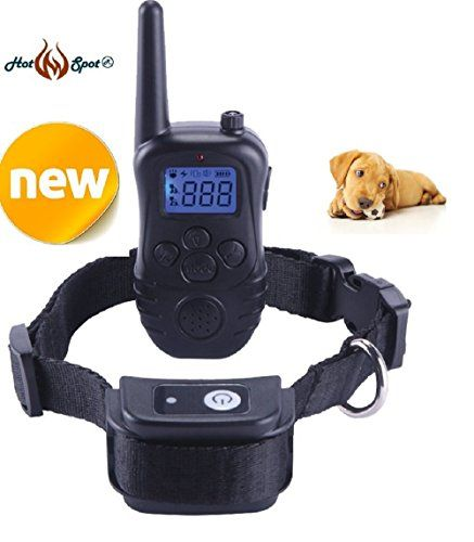Special Offers - Hot Spot Dog Training Collar Waterproof & Rechargeable LCD Remote Shock Collar for Dogs ( Newest Model) - In stock & Free Shipping. You can save more money! Check It (June 13 2016 at 06:34PM) >> http://dogcollarusa.net/hot-spot-dog-training-collar-waterproof-rechargeable-lcd-remote-shock-collar-for-dogs-newest-model/
