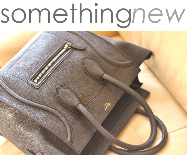 Celine Luggage Tote in Anthracite. | the new style | Pinterest ...