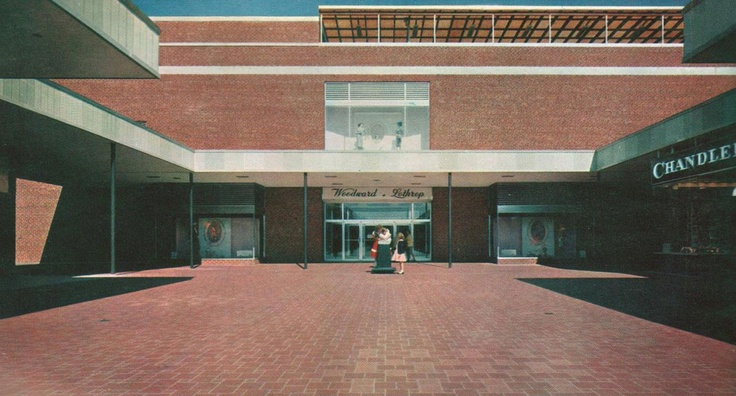 Woodward & Lothrop; Seven Corners, Falls Church, Virginia.The Place to Shop. My Mom Had a job there.