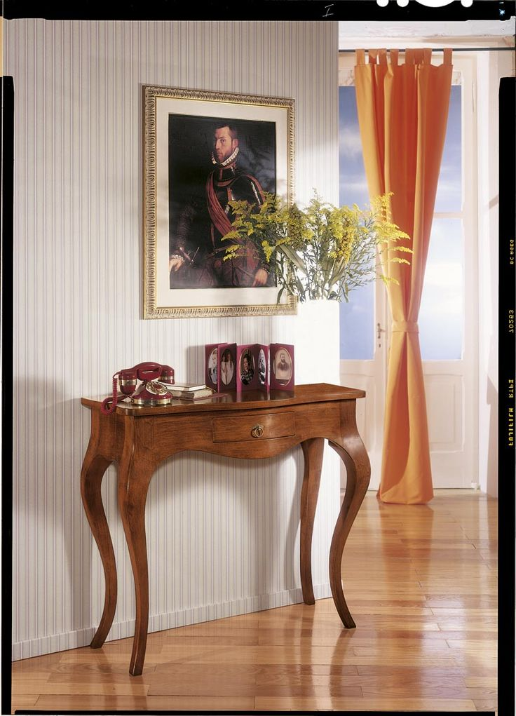 Console table made of masiv wood Catalog Zanini