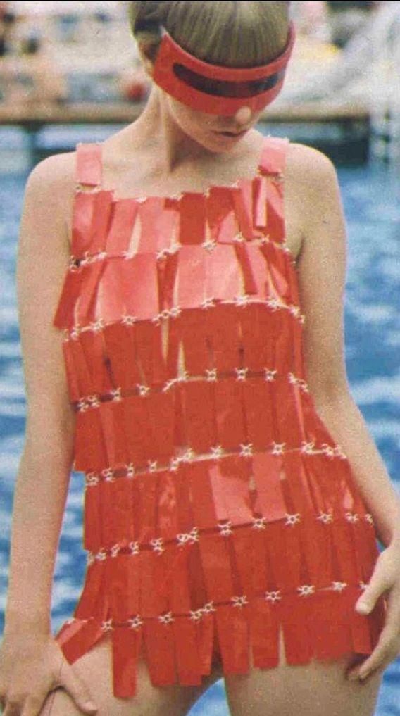 1960s metallic Paco Rabanne dress | Architect's Fashion