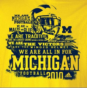 Michigan Football iPhone Wallpaper