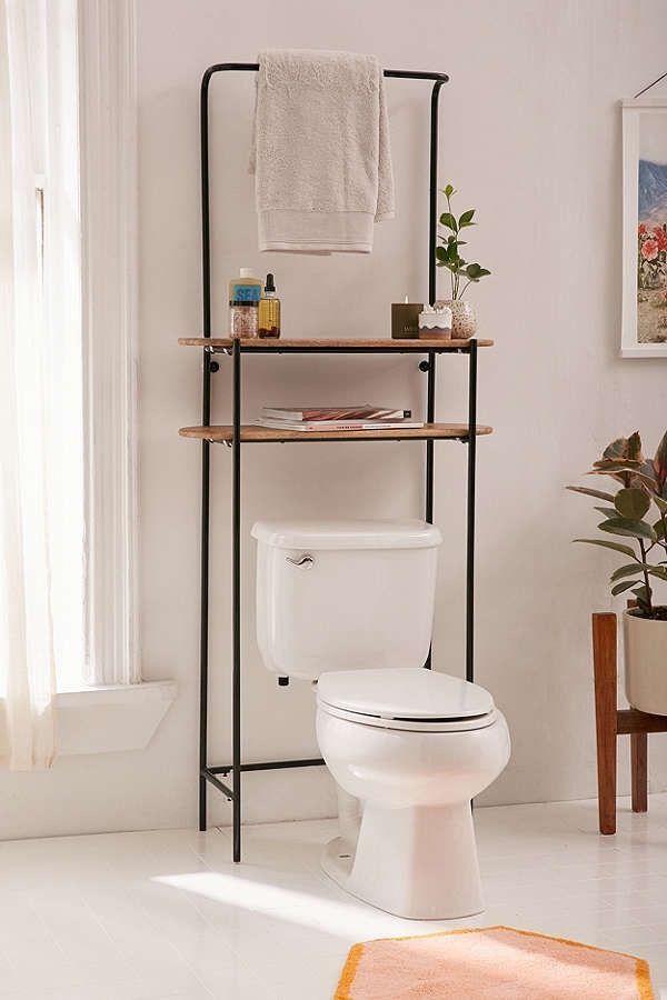 Innovative Bathroom Storage Ideas For Small Spaces Bathroom Storage Ideas Diy Over Toilet Cab Toilet Storage Bathroom Storage Shelves Apartment Storage Diy