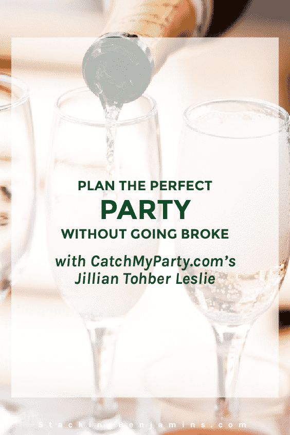 Creator of online site CatchMyParty.com Jillian Tohber Leslie joins us with some creative and original ideas to either make your party stand out or to ensure you stand out at the next party you're invited to attend.