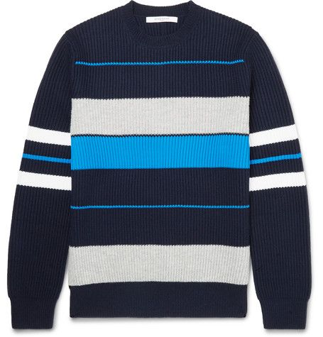 Striped Wool-Blend Sweater - Givenchy