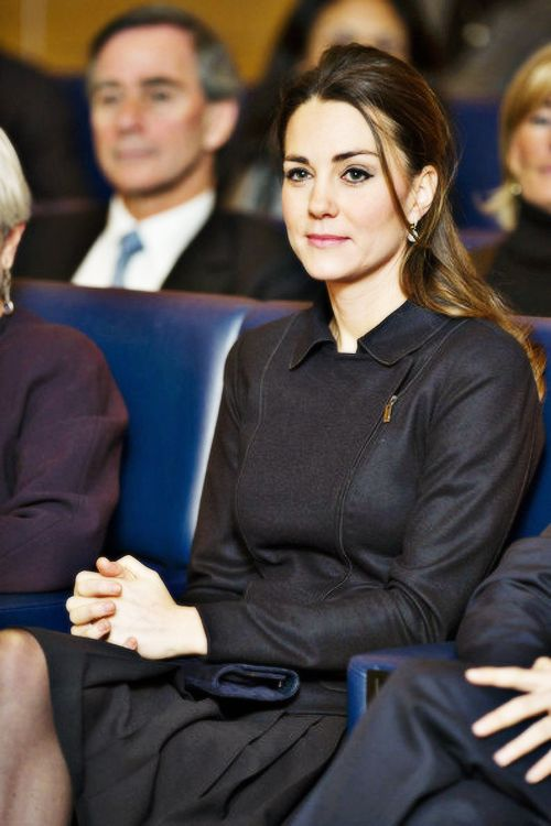 Duchess attending a Place2Be function in London on November 20, 2013.