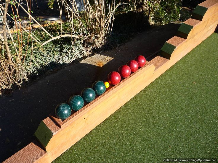 Bocce Ball Lawn Rules : 1000+ images about bocce ball plans on Pinterest  Bocce ball court