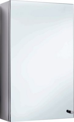 Michigan Single Door Stainless Cabinet - Stainless Steel
