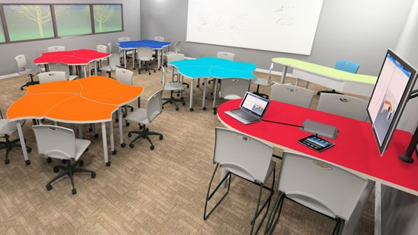 Innovative Classroom Desks ~ Innovative school tables for your st century learning