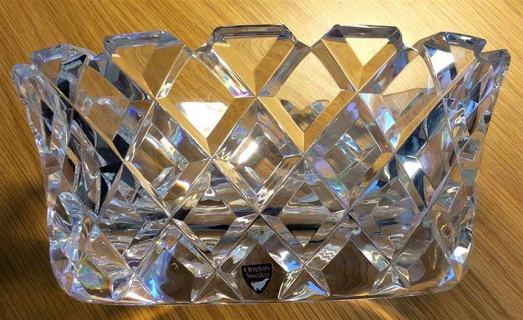 Orrefors Glasskål på Tradera.com - Signerade konstglas från Orrefors |