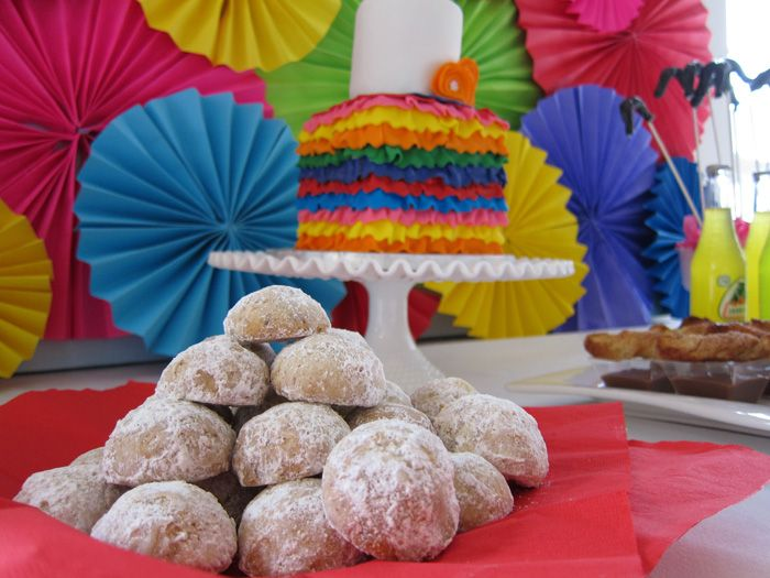 Mexican cookies for a Cinco de Mayo party...