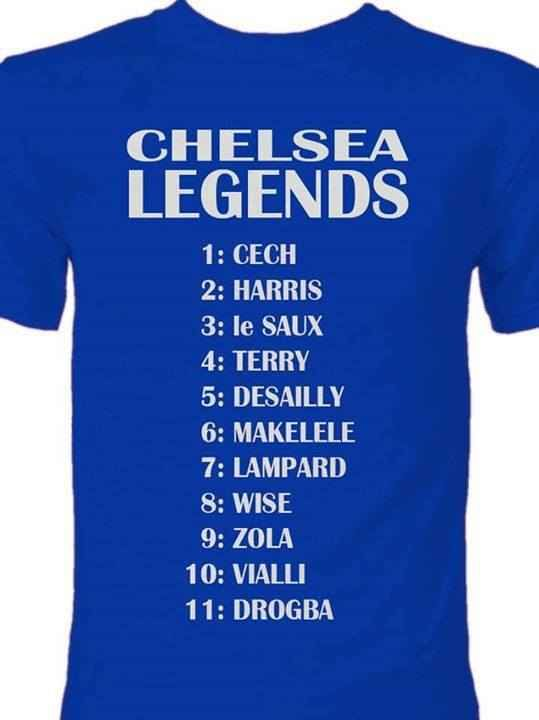 Chelsea FC Legends...