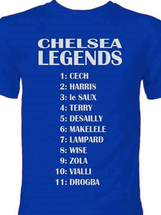 Chelsea FC Legends...