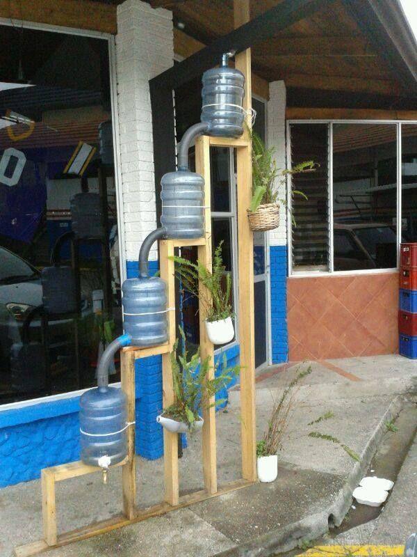 Sistema de almacenamiento de agua de lluvia para riego - Recoger agua de lluvia ...