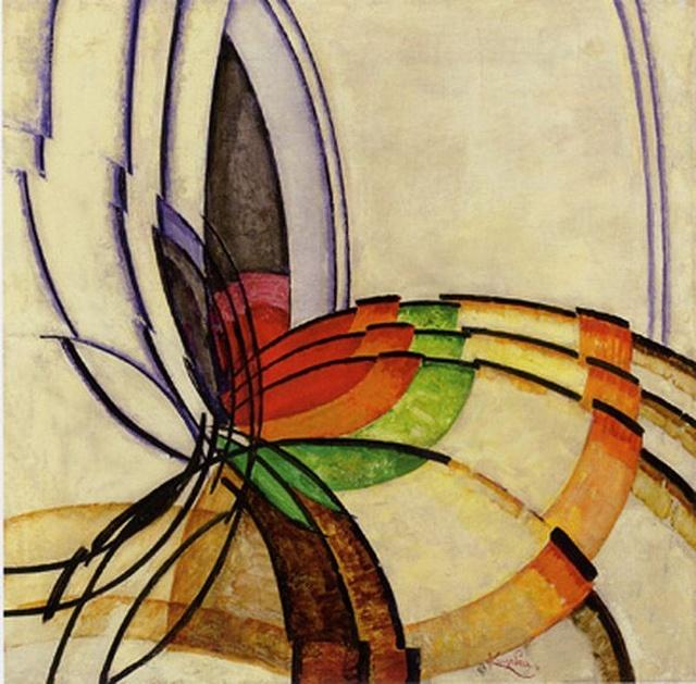 1947 - Frantisek Kupka - prisme  by paynith, via Flickr